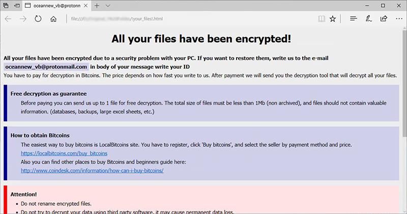 !your_files!.html ransom note